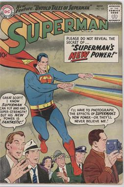 1939-1986, 2006-2011 DC Comics Superman Vol. 1 #125 - Superman's New Power