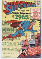 Introducing the Future Superman of 2965!