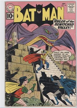 1940-2011 DC Comics Batman Vol. 1 #142 - Ruler of the Bewitched Valley