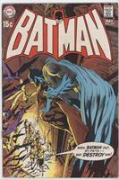 A Bat-Death For Batman!; Hot Time In Gotham Town Tonight!