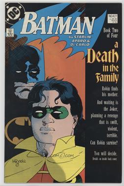 1940-2011 DC Comics Batman Vol. 1 #427 - A Death In the Family Part 2