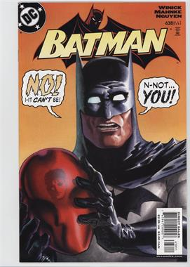 1940-2011 DC Comics Batman Vol. 1 #638 - Under the Hood, Part 4: Bidding War