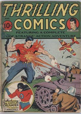 1940 - 1951 Better-Standard Publications Thrilling Comics #19 - Thrilling Comics