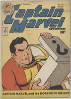 Captain Marvel and the Horror in the Box [Readable (GD‑FN)]