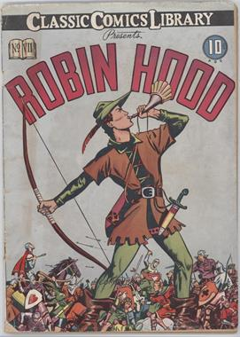 1942 - 1969 Gilberton Publications Classic Comics #07 - Robin Hood #1 - Robin Hood [Readable (GD‑FN)]