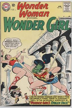 1942 - 1986; 2010 - 2011 DC Comics Wonder Woman #153 - Wonder Girl's Stolen Face