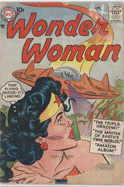 1942 - 1986; 2010 - 2011 DC Comics Wonder Woman #89 - The Master of Earth's Twin Worlds
