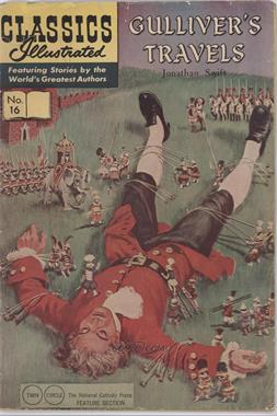 1943-69 Twin Circle Publications Classics Illustrated #16 - Gulliver's Travels #16 - Gulliver's Travels [Good/Fair/Poor]