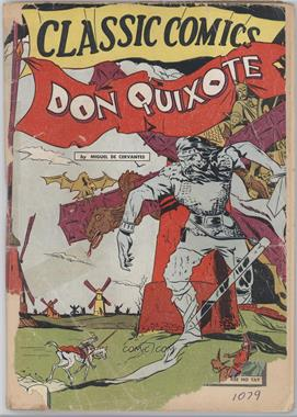 1943 -1968 Gilberton Publications Classic Comics #11 - Don Quixote #1 - Don Quixote