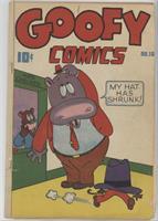Goofy Comics [Good/Fair/Poor]