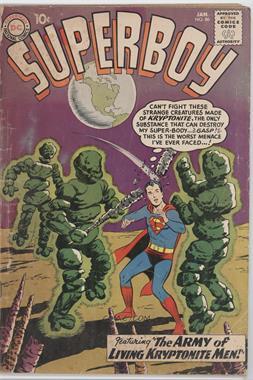 1949-1979 DC Comics Superboy #86 - The Super Coward [Readable(GD‑FN)]