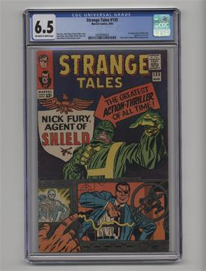 1951-1968, 1973-1976 Marvel Strange Tales Vol. 1 #135 - The Man For The Job! [CGC 6.5]