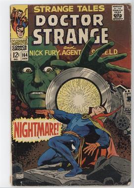 1951-1968, 1973-1976 Marvel Strange Tales Vol. 1 #164 - Nightmare! [Readable(GD‑FN)]