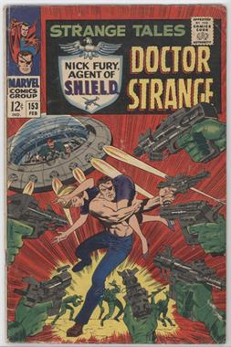 1951-1968, 1973-1976 Marvel Strange Tales #153 - The Hiding Place! [Good/Fair/Poor]