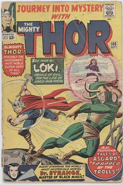1952-1966, 1996-1998, 2011-2013 Marvel Journey Into Mystery Vol. 1 #108 - At The Mercy Of Loki, Prince Of Evil!