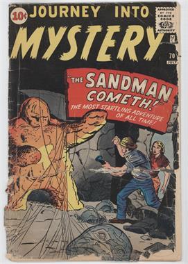 1952 - 1966, 1996 - 1998, 2011 - Present Marvel Journey Into Mystery #70 - The Sandman Cometh! [Good/Fair/Poor]