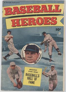 1952 Fawcett Publications Baseball Heroes #1 - Scarce [Good/Fair/Poor]