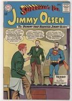 The Dummy that Haunted Jimmy Olsen!; Leslie Lowe, Girl Reporter!; Super Lucy La…