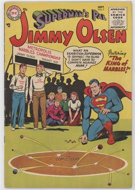 1954-1974 DC Comics Superman's Pal Jimmy Olsen #7 - The King of Marbles!