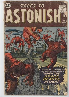 1959-1968 Marvel Tales to Astonish Vol. 1 #29 - When The Space Beasts Attack!! [Good/Fair/Poor]