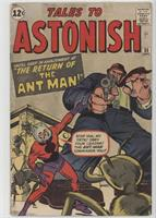 Return Of The Ant-Man! [Readable (GD‑FN)]