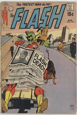 "1959-1985 DC Comics The Flash Vol. 1 #199 - ""Flash?--Death Calling!""/The Explosive Heart Of America [Readable (GD‑FN)]"