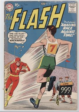 1959 - 1985 DC Comics The Flash #107 - Return of the Super-Gorilla! / The Amazing Race Against Time! [Readable (GD‑FN)]
