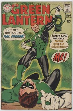 1960-1986 DC Comics Green Lantern Vol. 2 #59 - Earth's Other Green Lantern! [Readable(GD‑FN)]