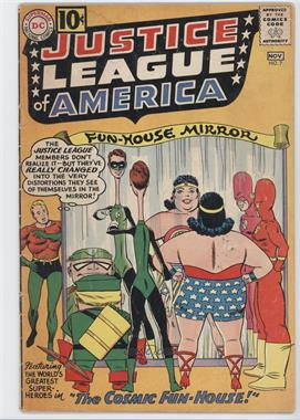 1960-1987 DC Comics Justice League of America Vol. 1 #7 - The Cosmic Fun-House!
