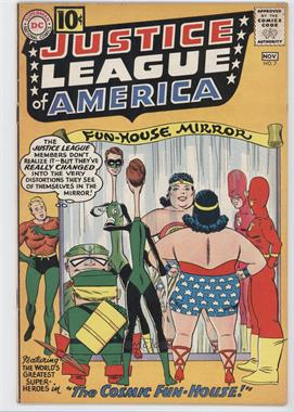 1960-1987 DC Comics Justice League of America Vol. 1 #7 - The Cosmic Fun-House! [Readable(GD‑FN)]