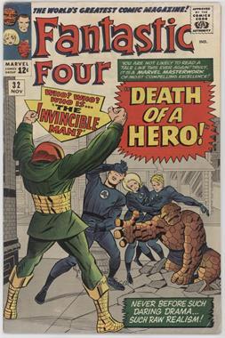 1961-1996, 2003-2012, 2015 Marvel Fantastic Four Vol. 1 #32 - Death of a Hero!