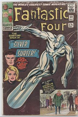 1961-1996, 2003-2012, 2015 Marvel Fantastic Four Vol. 1 #50 - The Startling Saga of the Silver Surfer [Good/Fair/Poor]