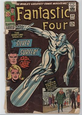 1961-1996, 2003-2012, 2015 Marvel Fantastic Four Vol. 1 #50 - The Startling Saga of the Silver Surfer [Good/Fair/Poor]