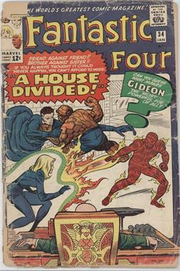1961-1996, 2003-2012 Marvel Fantastic Four Vol. 1 #34 - A House Divided