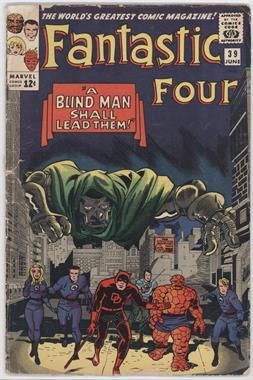 1961-1996, 2003-2012 Marvel Fantastic Four Vol. 1 #39 - A Blind Man Shall Lead Them [Good/Fair/Poor]