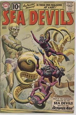 1961 - 1967 DC Comics Sea Devils #1 - Sea Devils