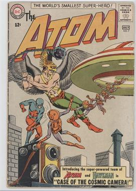 1962-1968 DC Comics The Atom #7 - Case of the Cosmic Camera!