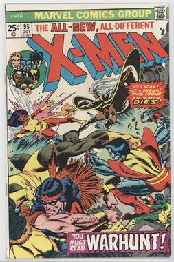 1963-1981 Marvel The X-Men Vol. 1 #95 - Warhunt!