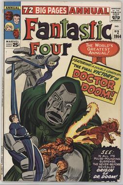 1963-1996, 2003-2012, 2015 Marvel Fantastic Four Annual #2 - The Fantastic Origin of Doctor Doom