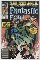 The Fearsome Fate of Franklin Richards-- --At The Hands of Doctor Doom!