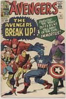 The Avengers Break Up [Readable (GD‑FN)]