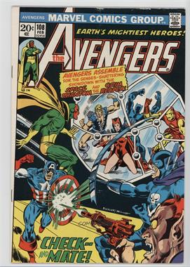 1963-1996, 2004 Marvel The Avengers Vol. 1 #108 - Check - - And Mate!