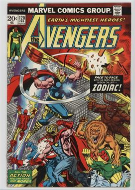 1963-1996, 2004 Marvel The Avengers Vol. 1 #120 - Death-Stars Of The Zodiac!