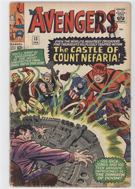 1963-1996, 2004 Marvel The Avengers Vol. 1 #13 - The Castle of Count Nefaria [Readable(GD‑FN)]