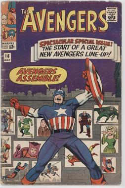 1963-1996, 2004 Marvel The Avengers Vol. 1 #16 - The Old Order Changeth [Good/Fair/Poor]