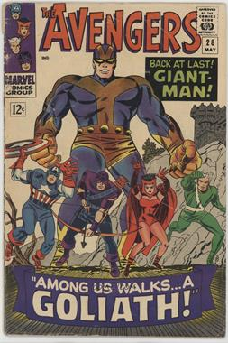 1963-1996, 2004 Marvel The Avengers Vol. 1 #28 - Among Us Walks...a Goliath! [Readable(GD‑FN)]