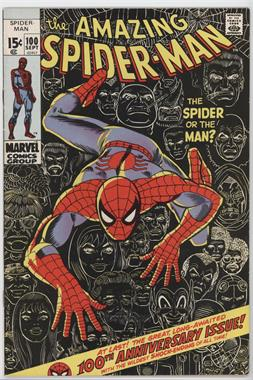 1963-1998, 2003-2013 Marvel The Amazing Spider-Man Vol. 1 #100 - The Spider Or The Man?