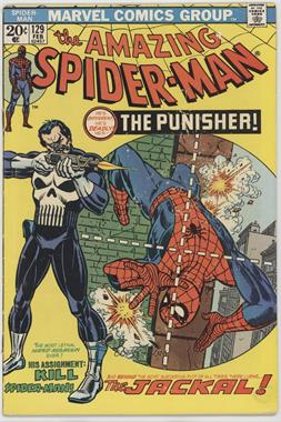1963-1998, 2003-2013 Marvel The Amazing Spider-Man Vol. 1 #129 - The Punisher Strikes Twice [Readable (GD‑FN)]