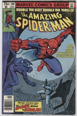 1963-1998, 2003-2013 Marvel The Amazing Spider-Man Vol. 1 #200 - The Spider and the Burglar