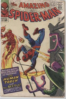 1963-1998, 2003-2013 Marvel The Amazing Spider-Man Vol. 1 #21 - Where Flies the Beetle...! [Readable(GD‑FN)]